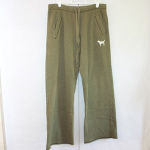 PINK Victoria's Secret Size Small Green Sweatpants